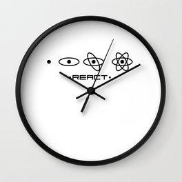 React JS unique design Wall Clock