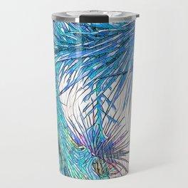 Joshua Tree VGBlue by CREYES Travel Mug