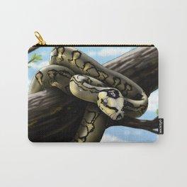 Carpet Python Art Carry-All Pouch