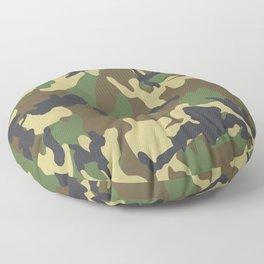 Woodland Camo Floor Pillow