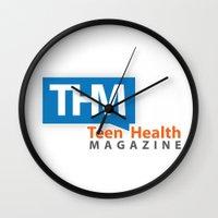 health Wall Clocks featuring Teen Health Magazine by TeenHealthMagazine