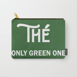 TEA ONLY GREEN ONE Carry-All Pouch