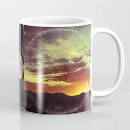 American Sunset As Vintage Album Art Coffee Mug