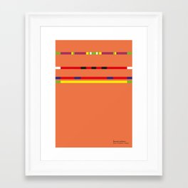 Renaud Lavillenie Framed Art Print