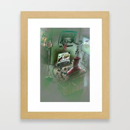 Are You Getting the Message? Framed Art Print