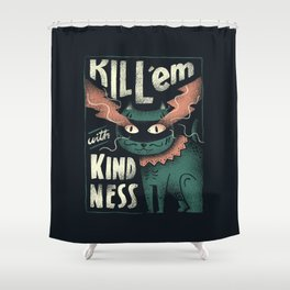 Kindness Shower Curtain