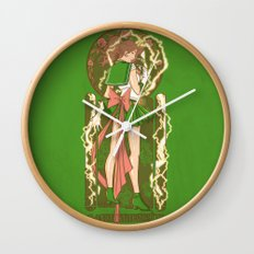 Before the Storm - Sailor Jupiter nouveau Wall Clock