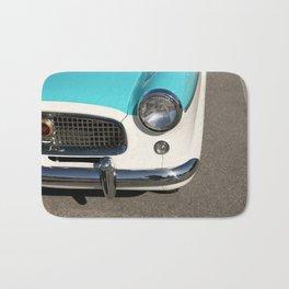 Vintage Car Headlight Bath Mat