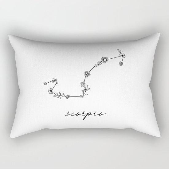 Scorpio Floral Zodiac Constellation by aterkaderk