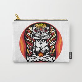 Illustration Demon in the lotus position Carry-All Pouch