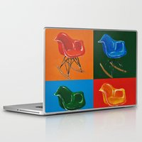 eames Laptop & iPad Skins featuring Eames Rocker  by Redeemed Ink by - Kagan Masters