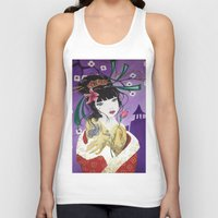 mulan Tank Tops featuring Mulan by marmaseo