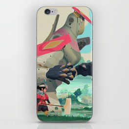 Pelle and Shovel iPhone Skin