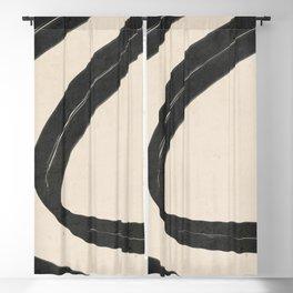 Minimal Abstract Art 17 Blackout Curtain