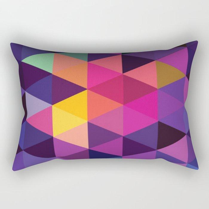 Purple Crush Rectangular Pillow