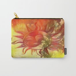 Blissful Sun Moon Carry-All Pouch