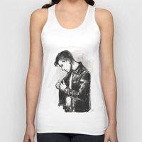 alex turner Tank Tops featuring alex turner [5] by roanne Q