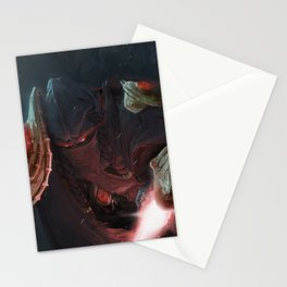 A Close Fight Stationery Cards