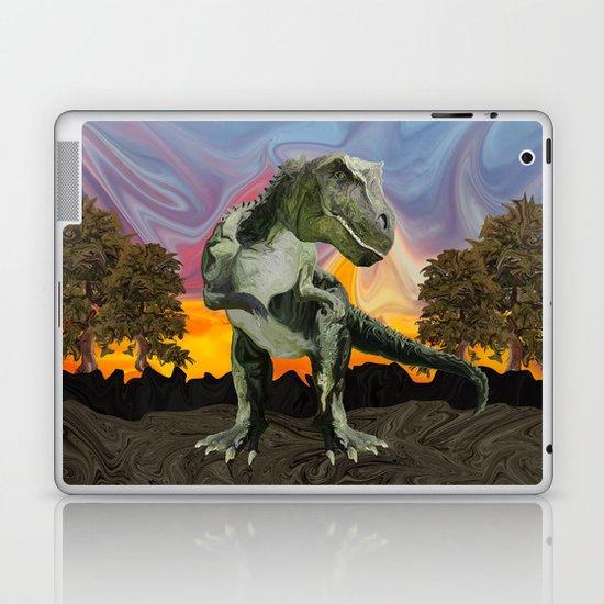 Tyrannosaurus Rex at the Twilight Hour Laptop & iPad Skin