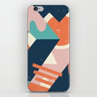 iPhone & iPod Skins featuring Galactic Pit by Wilmer Murillo
