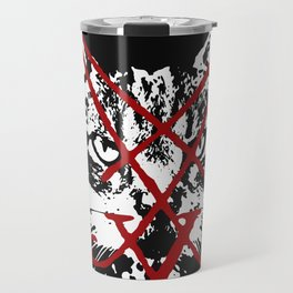 CAT METAL : Lucifurr - The Seventh Feline Sign Travel Mug