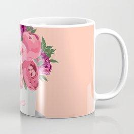 A box of peonies Coffee Mug