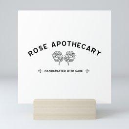 Schitt's Creek Rose apothecary Mini Art Print