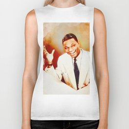 Nat King Cole, Music Legend Biker Tank