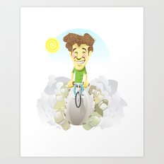 bicycle, the best transport Art Print