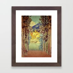Returning to Hoyi Framed Art Print
