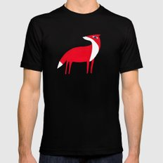 Fox Black SMALL Mens Fitted Tee