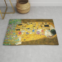 Gustav Klimt The Kiss Rug
