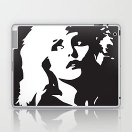 Blondie, Music Legend, Black, White, Cinema, Art, Author, Song Writer, Musician, Punk, Laptop & iPad Skin