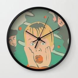 Home alone Wall Clock
