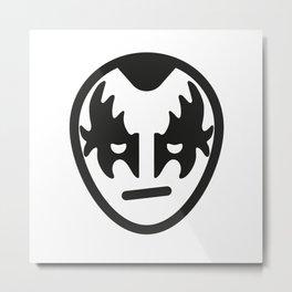 Gene Simmons - Kiss - Rock Icon Metal Print