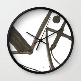 Had of the Eagle Wall Clock