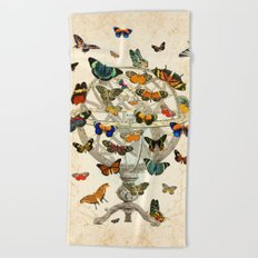 Butterfly House Beach Towel