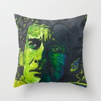 senna Throw Pillows featuring Senna by Matt Pecson