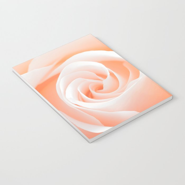 Rose´s heart I- Beautiful roses flower in pink Notebook