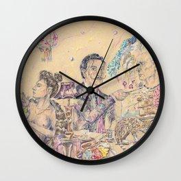 The Master at Work Wall Clock