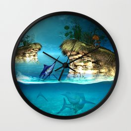The dreamworld Wall Clock