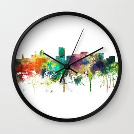 Portland Oregon Skyline SP Wall Clock