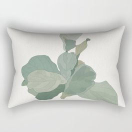 Rachel's Fiddle Leaf Rectangular Pillow