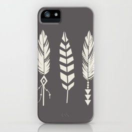 Gypsy Feathers iPhone Case