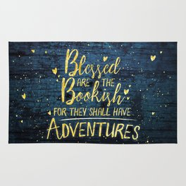 Blessed Bookish Rug