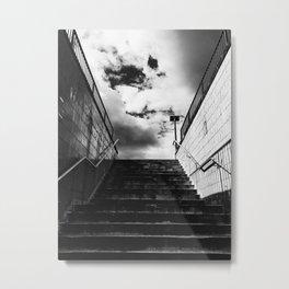 Look ahead. Metal Print