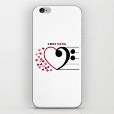 Lovesong iPhone & iPod Skin
