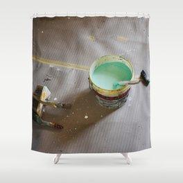 Painting by Giada Ciotola Shower Curtain