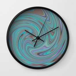 TURQUOISE FANCY Wall Clock