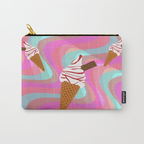 We All Scream For Ice Cream  Carry-All Pouch